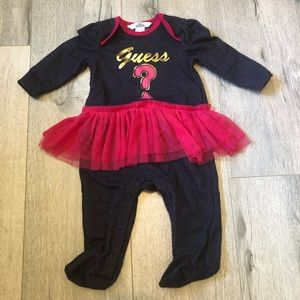 🔴SALE baby guess 3-6m one piece with tutu